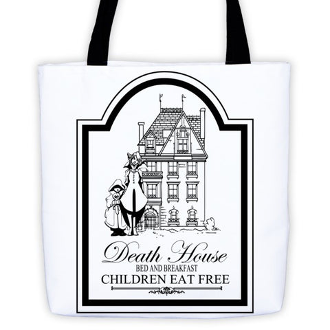 Curse of Strahd Death House - Tote bag - Original Gamer  - Dungeons and Dragons T-shirt