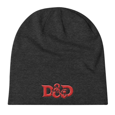 Dugeons and Dragons Logo - Knit Slouch Beanie