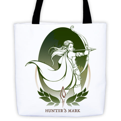 Hunters Mark - Tote bag - Original Gamer  - Dungeons and Dragons T-shirt