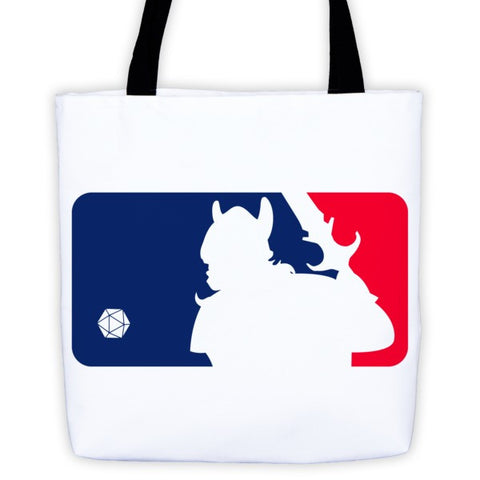 Major League D&D Tote bag - Original Gamer  - Dungeons and Dragons T-shirt