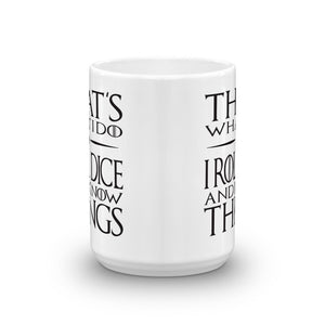 That's what I do - Dungeon Master Mug
