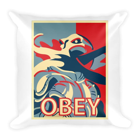 Mind Flayer Obey - Pillow - Original Gamer  - Dungeons and Dragons T-shirt