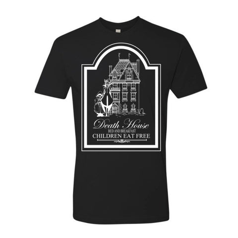 Curse of Strahd Death House Tee (+2 Armor Dark) - Original Gamer  - Dungeons and Dragons T-shirt