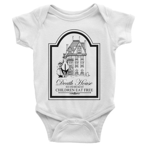 Strahd Death House B&B - Infant short sleeve one-piece
