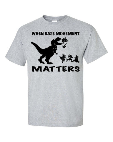 Base Movement (+1 Armor) - Original Gamer  - Dungeons and Dragons T-shirt