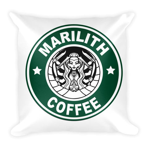 Marilith Coffee Pillow - Original Gamer  - Dungeons and Dragons T-shirt