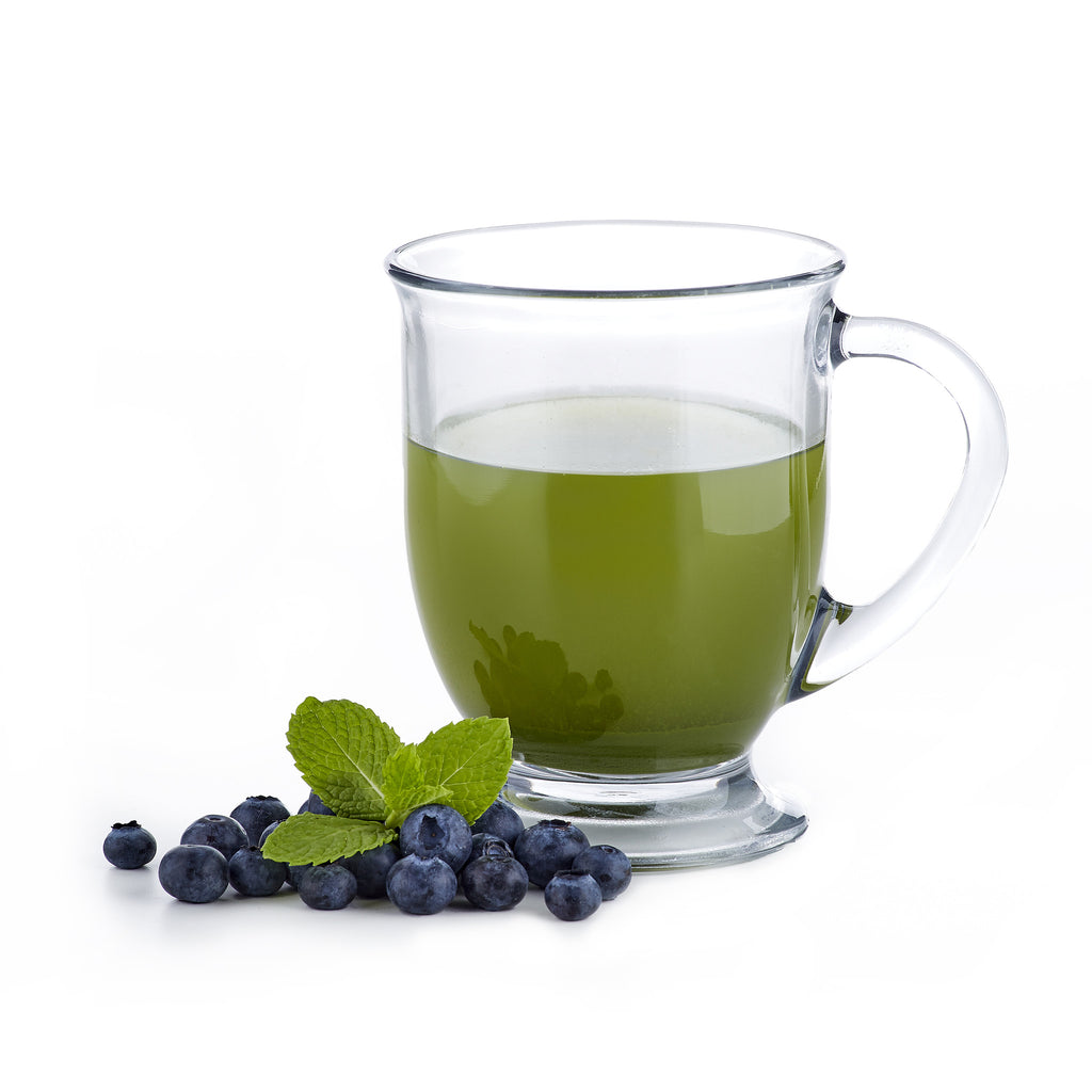 Blueberry Matcha Green Tea Sample