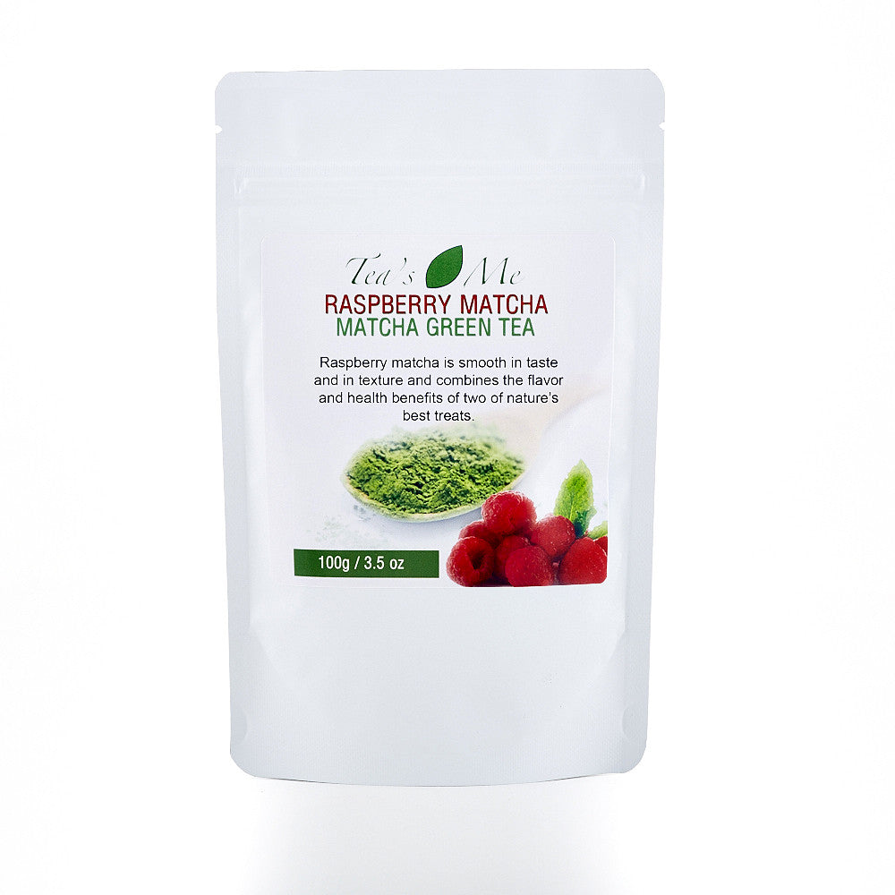 Raspberry Flavored Matcha Tea