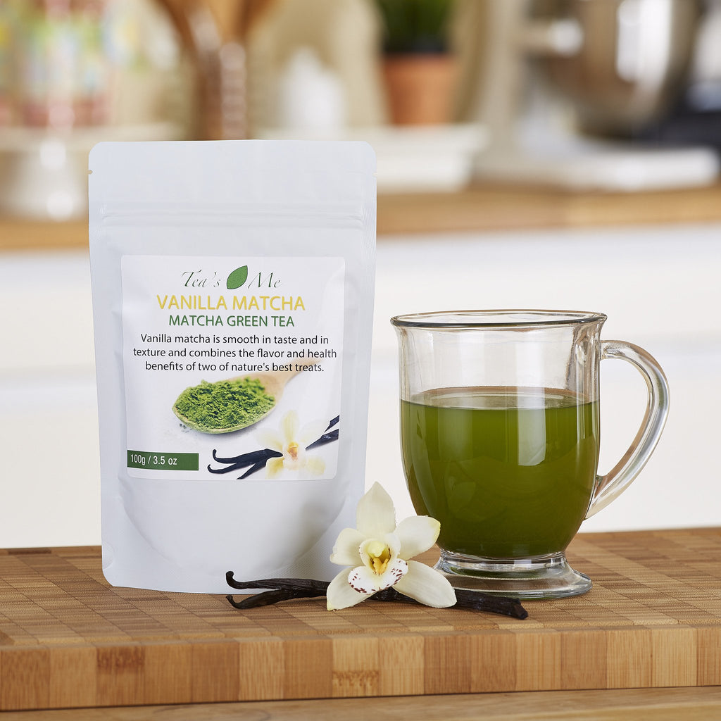 Vanilla Flavored Matcha Tea 3.5oz  5.00% Off Auto renew