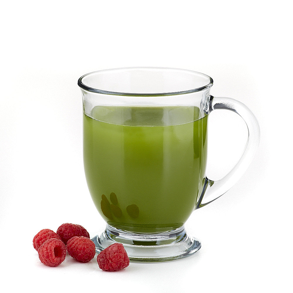 Raspberry Matcha Green Tea Sample
