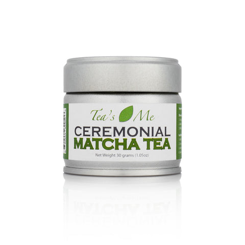 Organic Matcha Tea Powder Tin