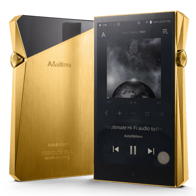 Astell&Kern A&Ultima SP2000 Vegas Gold Limited Edition - Jaben - The Little Headphone Store