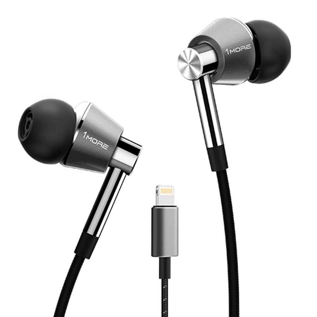 1MORE E1001-L Triple Driver LTNG In-Ear Headphones - Jaben - The Little Headphone Store