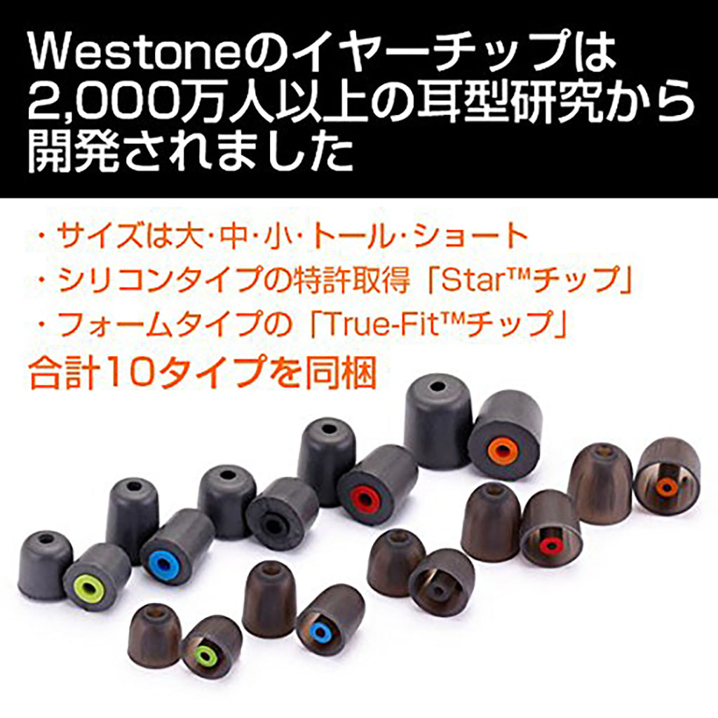 Westone UM1 Earphones Generation 2 - Jaben - The Little Headphone Store