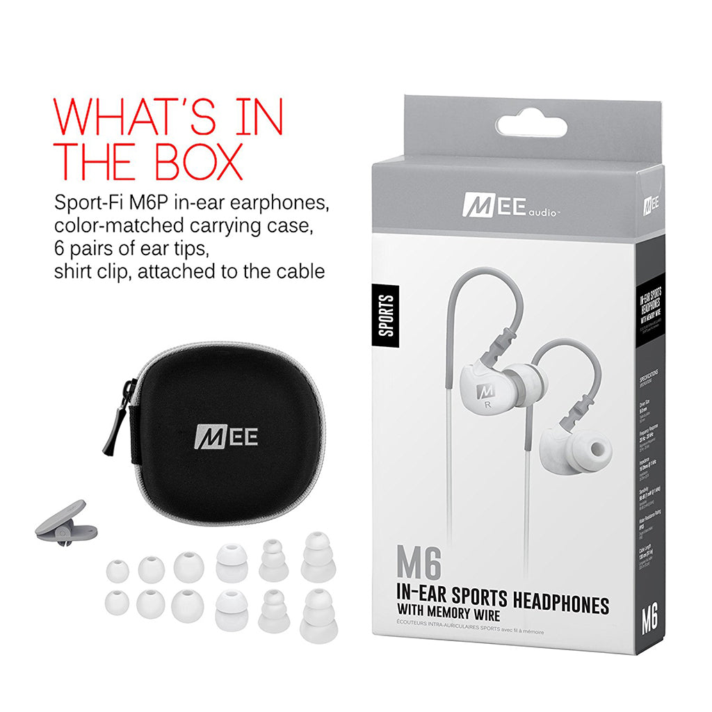 MEE Audio M6 Sports Earphones