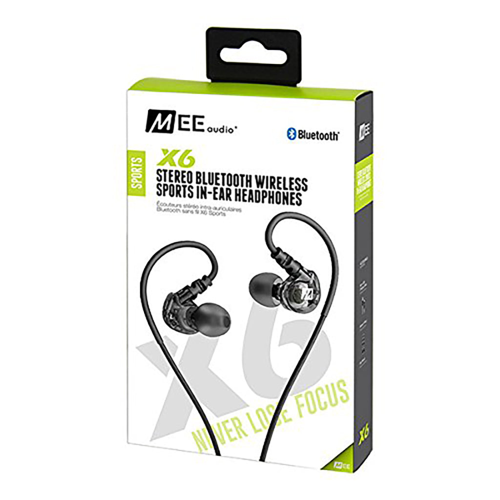 Mee Audio X6 Bluetooth Sports In-Ear Headset - Jaben - The Little Headphone Store