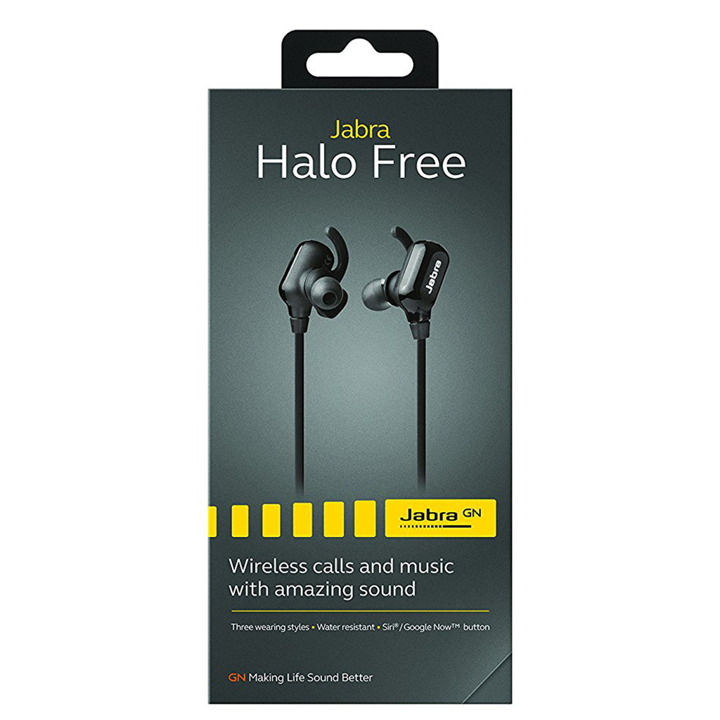 Jabra Halo Free Bluetooth Wireless Headphones - Jaben - The Little Headphone Store