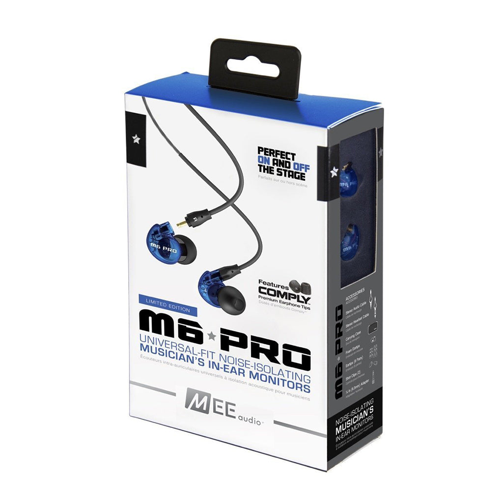 MEE Audio M6 PRO Universal-Fit Musician's In-Ear Monitors - Jaben - The Little Headphone Store