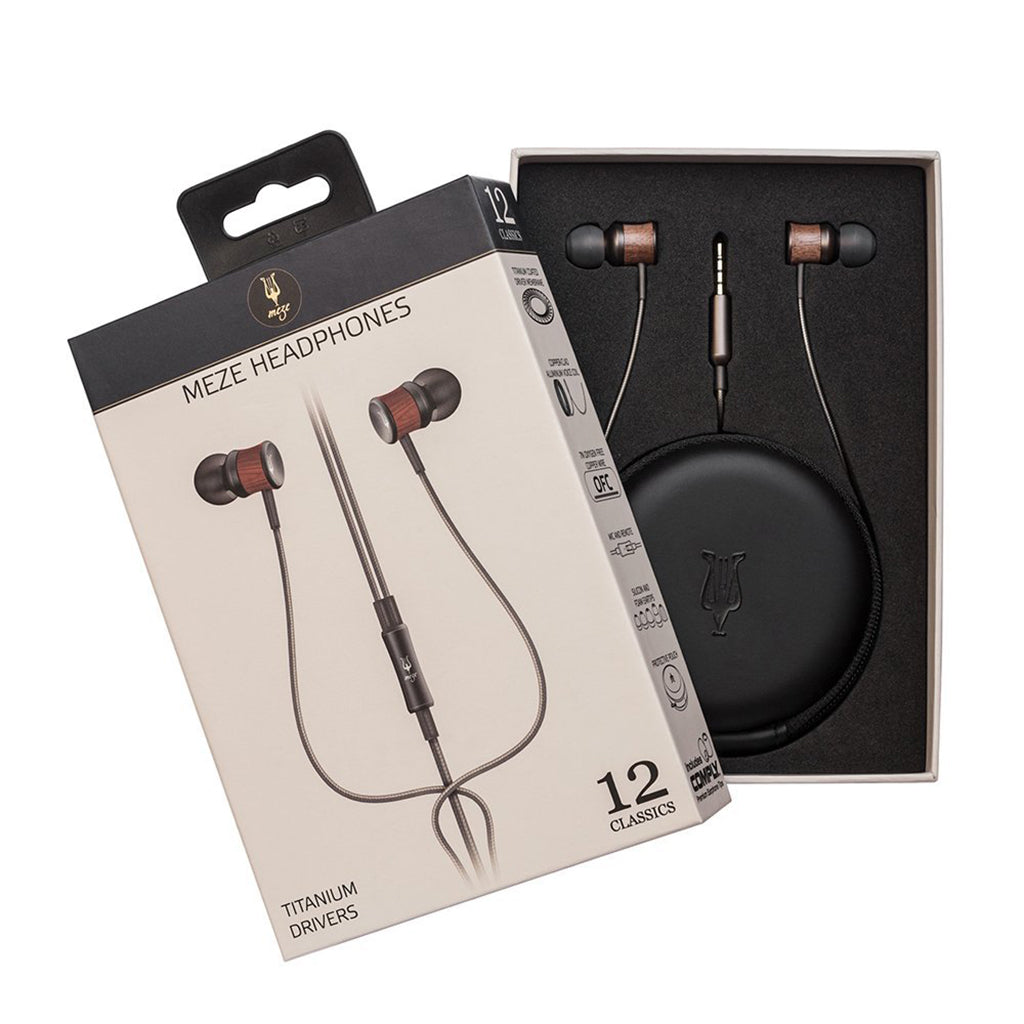 Meze 12 CLASSIC Hi-Fi In-Ear Monitors - Jaben - The Little Headphone Store