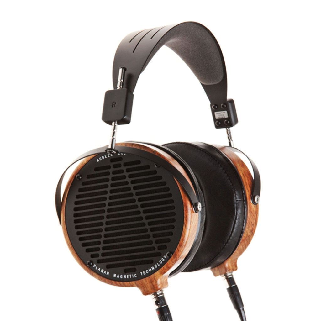 LCD-2 Rosewood with Leather Earpads - Jaben - The Little Headphone Store
