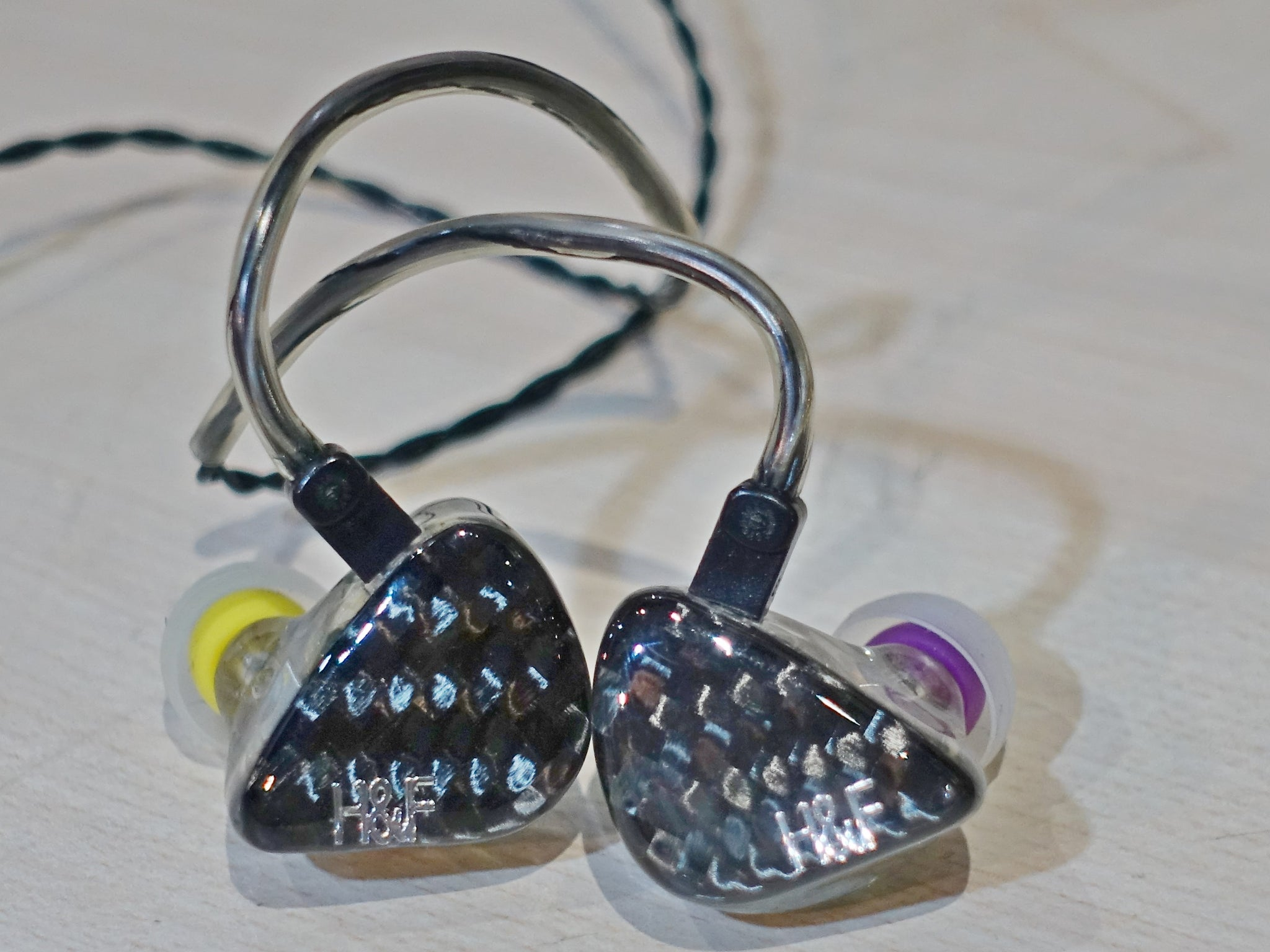 H&F Audio H1s Universal Demo (SS15) - Jaben - The Little Headphone Store