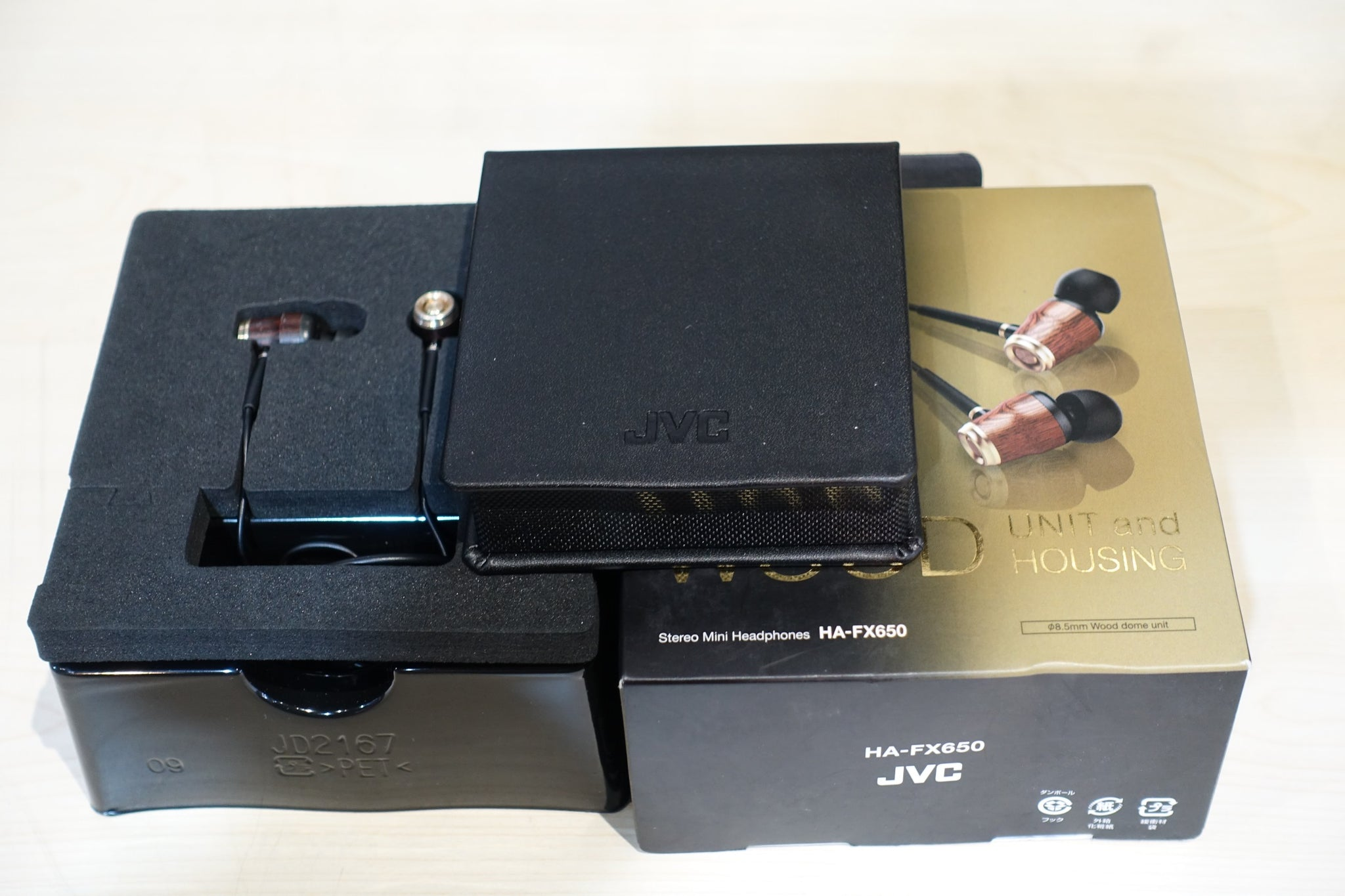JVC HA-FX650 Demo (SS15) - Jaben - The Little Headphone Store