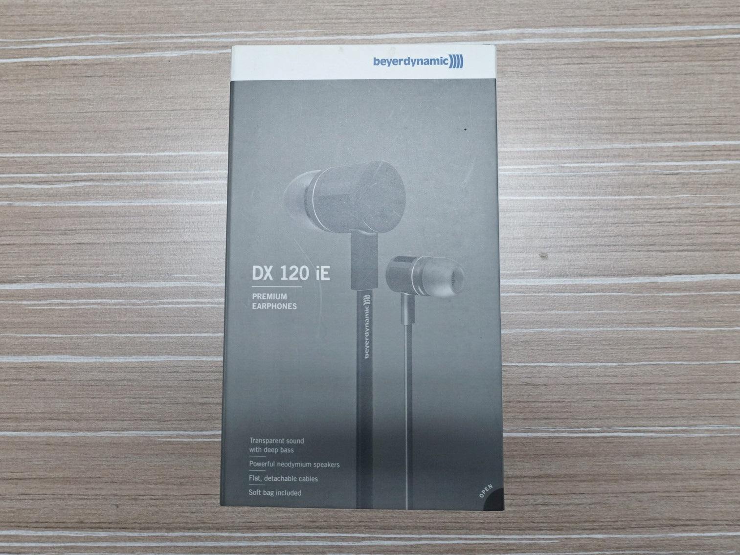 beyerdynamic DX 120 iE Old Stock (SS15) - Jaben - The Little Headphone Store