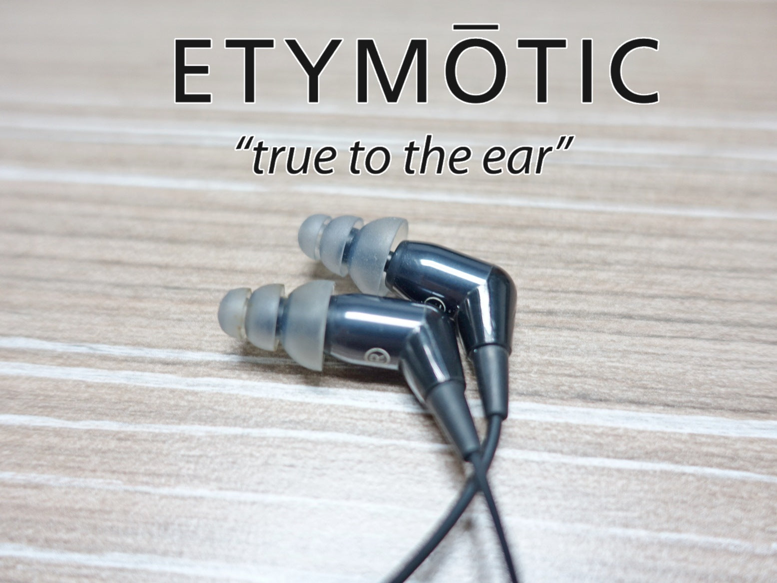 Etymotic mc5 Demo (SS15) - Jaben - The Little Headphone Store