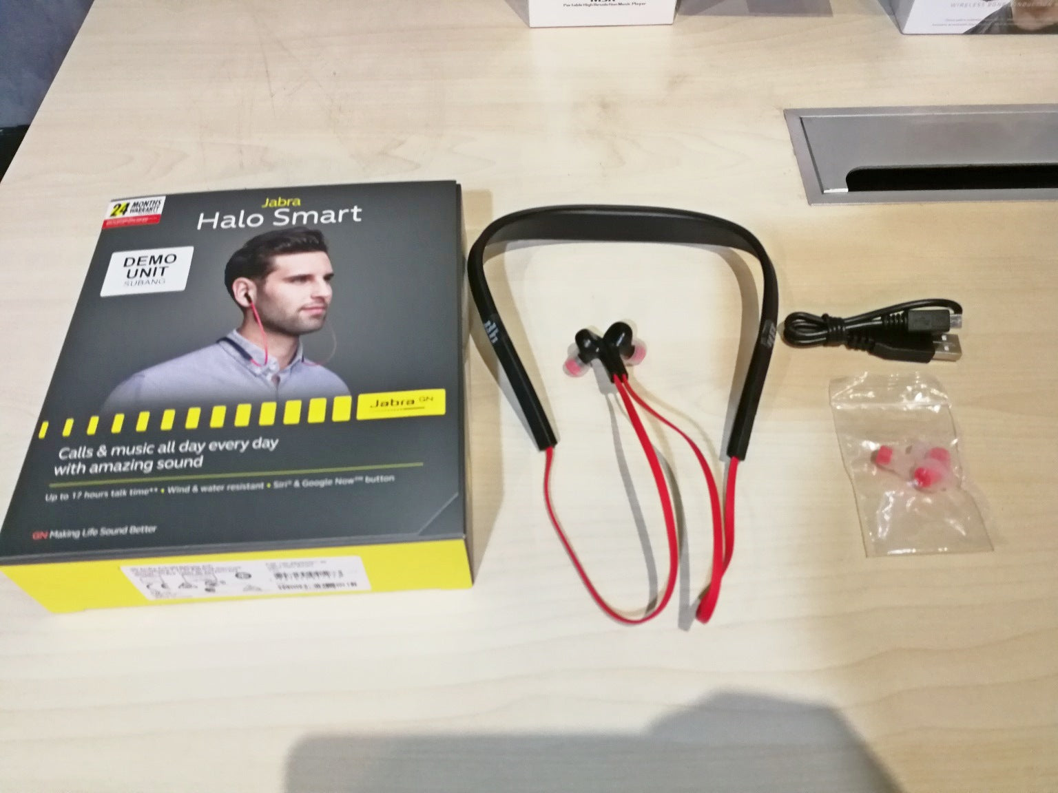 Jabra Halo Smart Demo (SS15) - Jaben - The Little Headphone Store