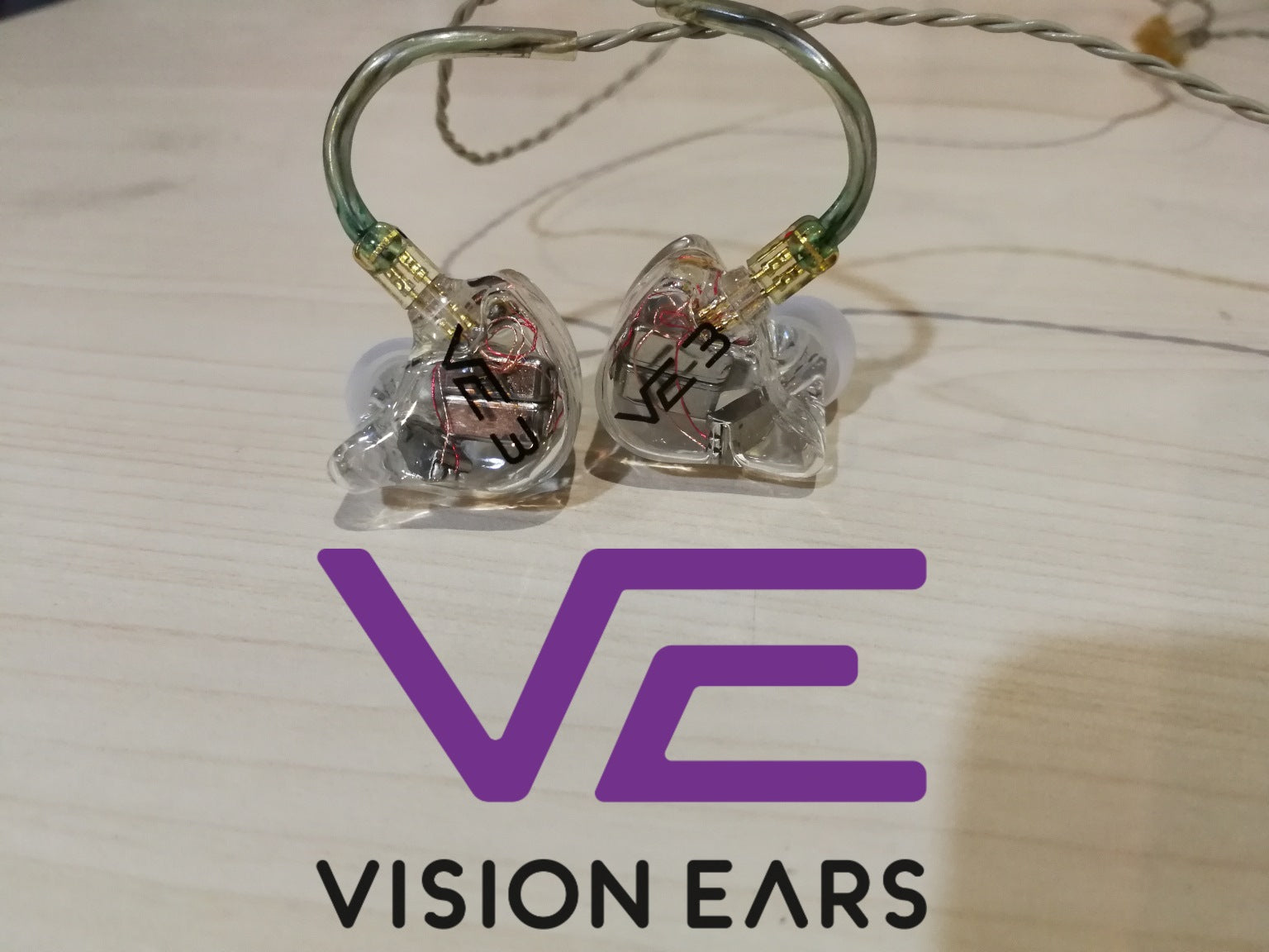 Vision Ears VE3 Demo (SS15) - Jaben - The Little Headphone Store