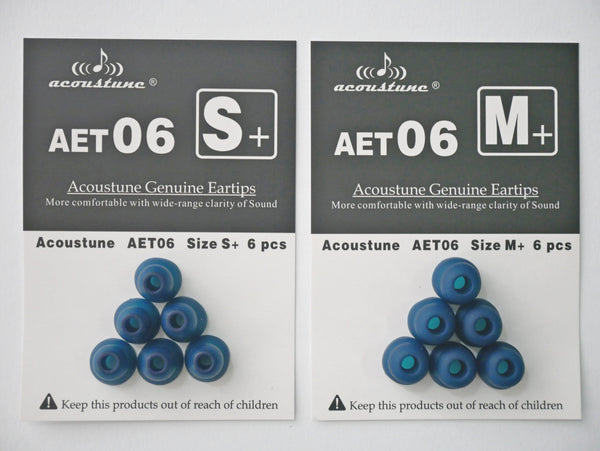 Acoustune AET06 Eartips - Jaben - The Little Headphone Store