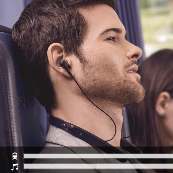 PRE-ORDER: 1000X Wireless Noise-Canceling Neckband WI-1000XM2