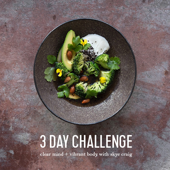 Skye's 3 Day Challenge is on!