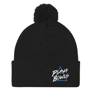 Retro Playa pom pom hat
