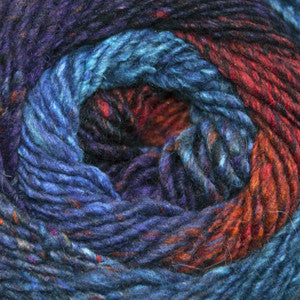 Cascade Melilla Worsted Weight Stained Glass #03