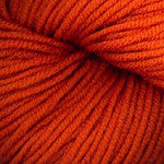 Plymouth DK Merino Superwash yarn 1126 tangerine