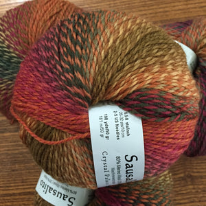 Sausalito Sock yarn color 8107