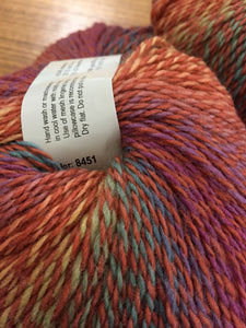 Sausalito Sock yarn color 8451