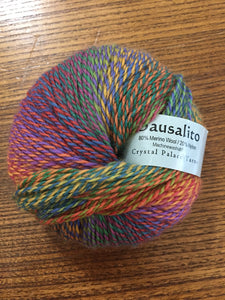 Sausalito Sock yarn color 8101