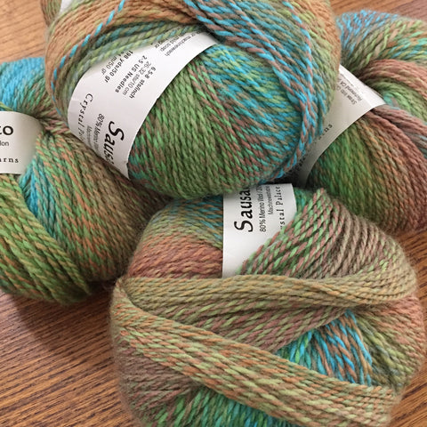 Sausalito Sock yarn color 8119