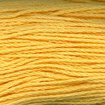 Plymouth Cleo cotton DK weight yarn 106 lemon