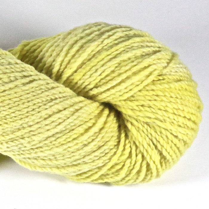 Cestari Mt Vernon 2 ply worsted weight wool yarn Buttercup
