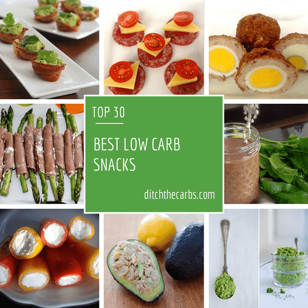 Our Top Low Carb Snacks