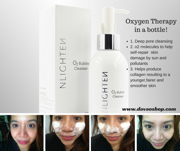 nLighten 02 Bubble Cleanser Review and Testimonials