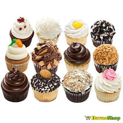 1 Dozen Assorted Gourmet Cupcakes - Baked Goods | Davaoshop - The 1St Online Shop In Davao Since 2003