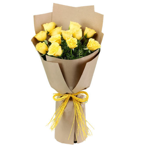 One Dozen Yellow Roses - DavaoShop - Send flowers, gifts to your loved ones in Davao City - the 1st Online Shop in Davao Since 2003