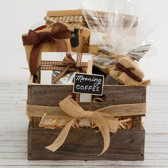 Coffee Lovers Gift Crate - DavaoShop - Send flowers, gifts to your loved ones in Davao City - the 1st Online Shop in Davao Since 2003