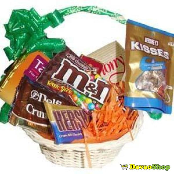 Basketful O'Chocolates - DavaoShop - The 1st Online Shop in Davao Since 2003