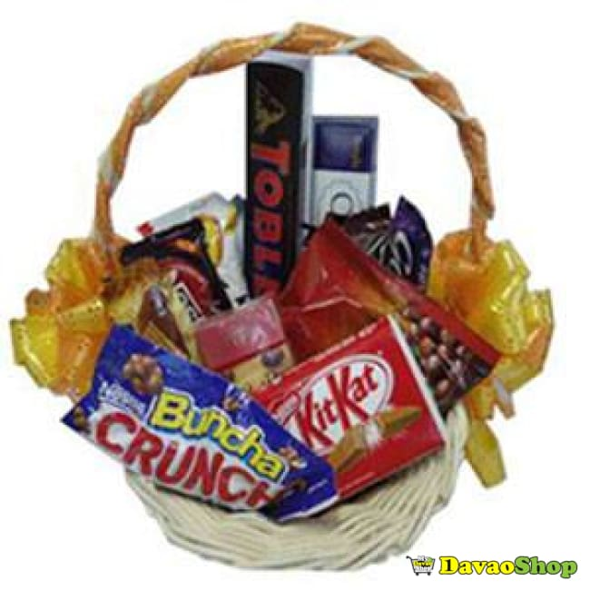 Crunchy Choco Madness - Gift Baskets | Davaoshop - The 1St Online Shop In Davao Since 2003