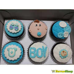 Custom Fondant Cupcakes - DavaoShop - The 1st Online Shop in Davao Since 2003